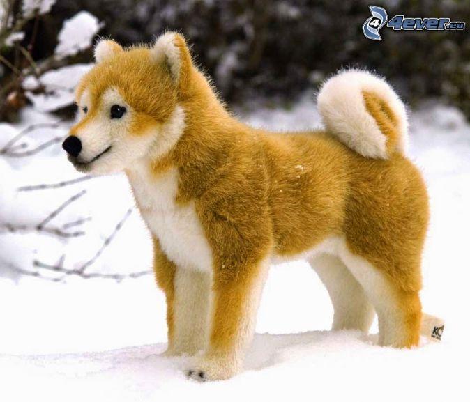 Plusch Hund Shiba Inu Welpen Shiba Inu Hunde