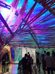 images of Iridescent foil-like ETFE etfe canopy - Google Search