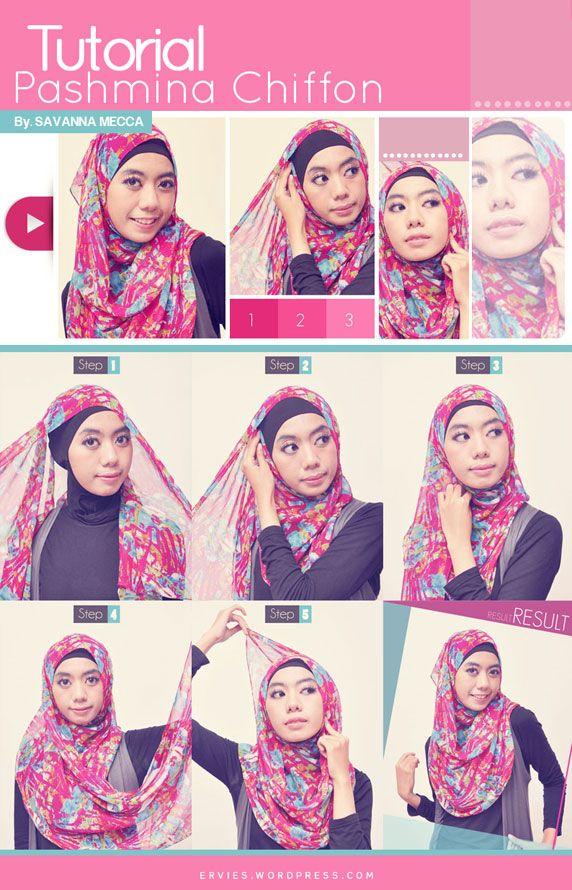 Hijab Style Beauty Kursus Hijab Tutorial Hijab Pashmina Jilbab Sederhana