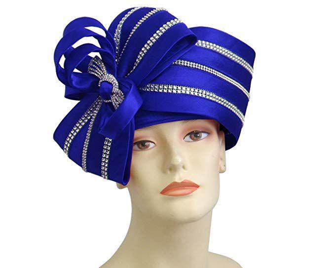 5d818199903a8 Ms Divine Women s Satin Year Round Pillbox Church Derby Dress Formal Hats