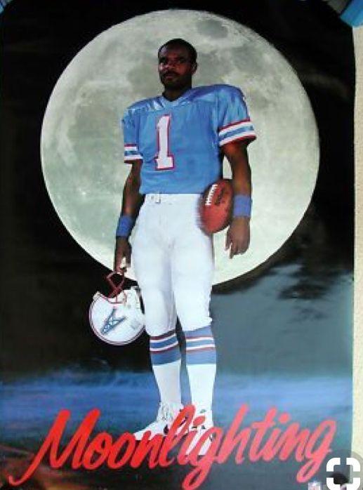 c2d913699 Warren Moon 🌙 Houston Oilers QB #1 | Warren Moon | Warren moon ...