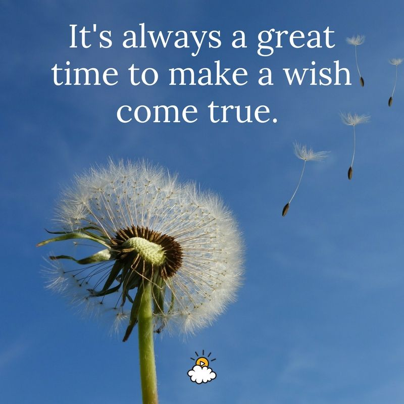 how to make a wish come true from god