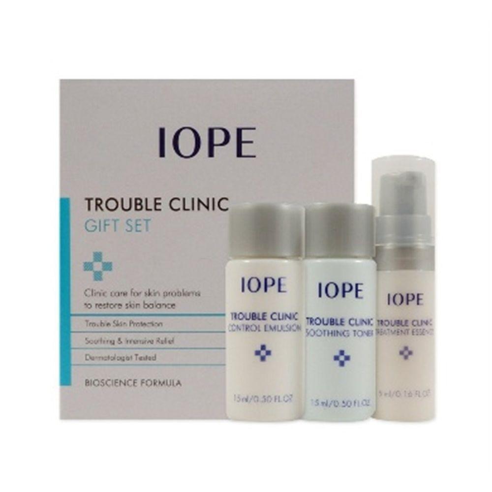 Iope Trouble Clinic Trial Kit 3 Items Iope 333korea Skincare Beauty Koreacosmetics Cosmetics Oppacosmetics Cosmetic Korean