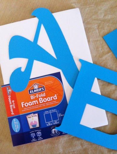 Making Letters Sparkle Diy Scrapbook Paper Letter A Crafts Foam Letters