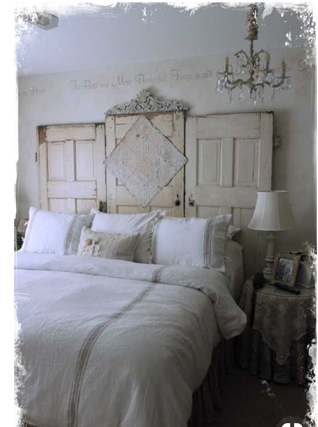 Unique Headboards, Creative Headboards Diy, Headboards For Beds Diy, Antique  Door Headboards, - Pin By Tammy Little On For The Home In 2018 Pinterest Bedroom