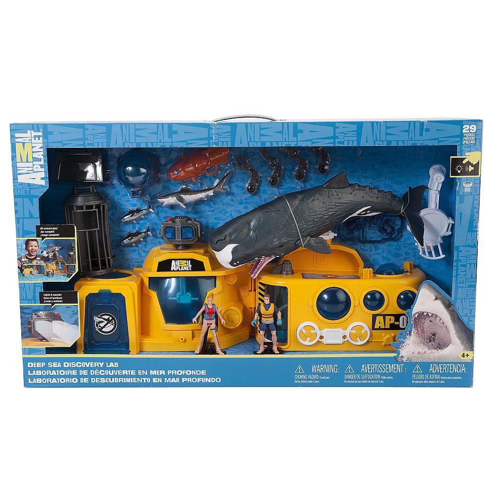 """Animal Sea Lab Playset Animal Toys """"R"""