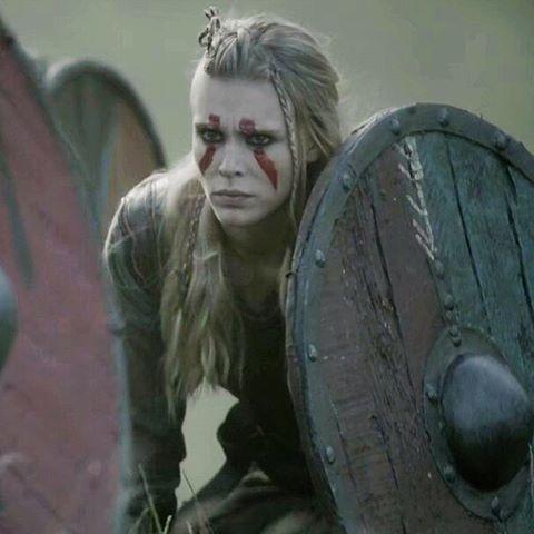 maquillaje para vikingos
