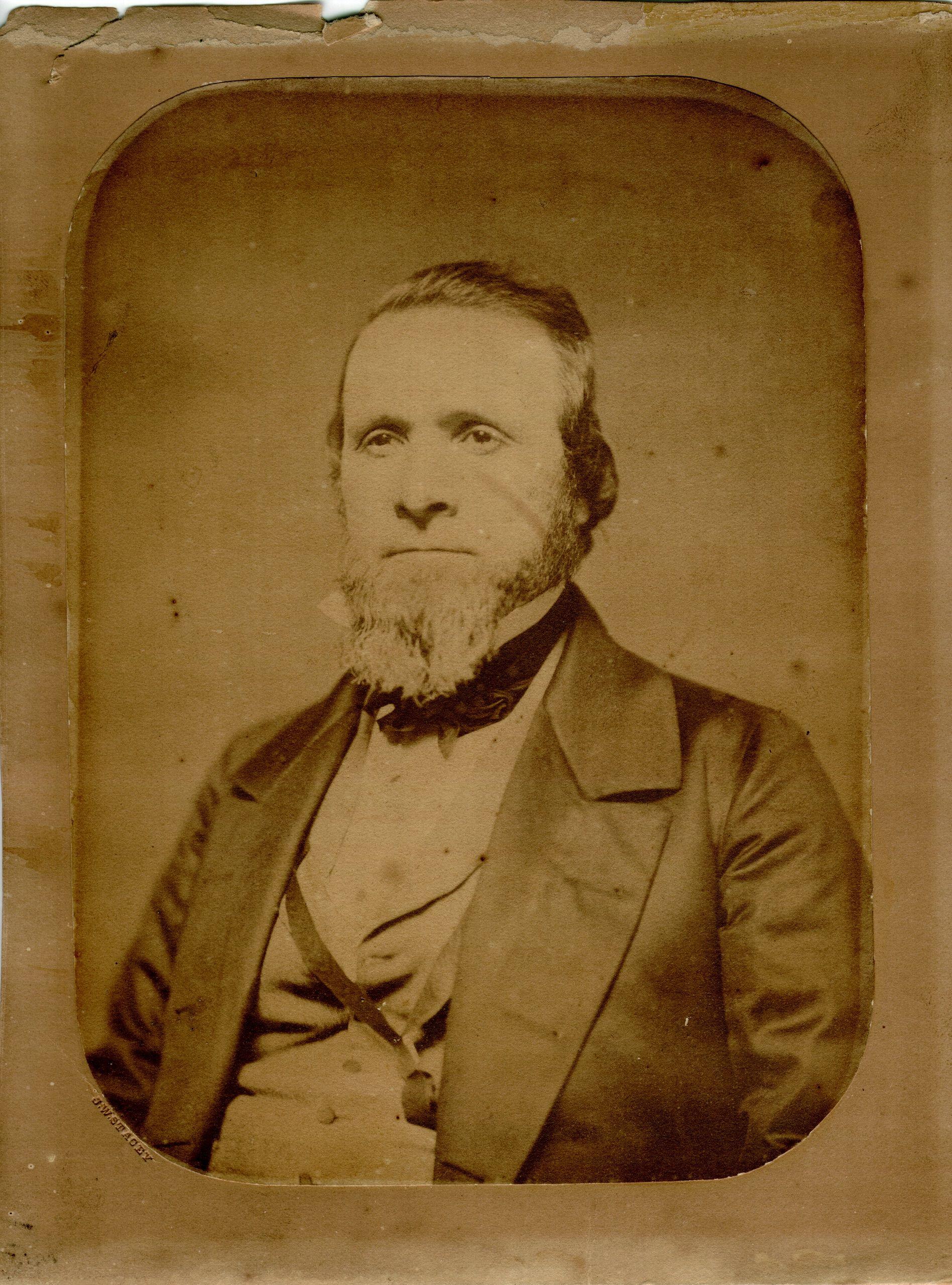 Taken Prior To 1859 Of Benjamin Franklin Goff Ware Massachusetts