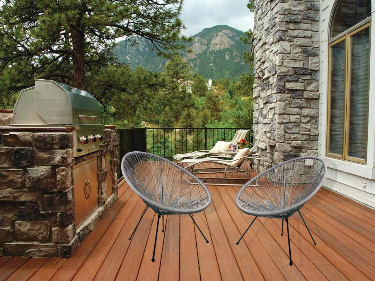 Ejoy indoor outdoor acapulco woven lounge chairegg chair