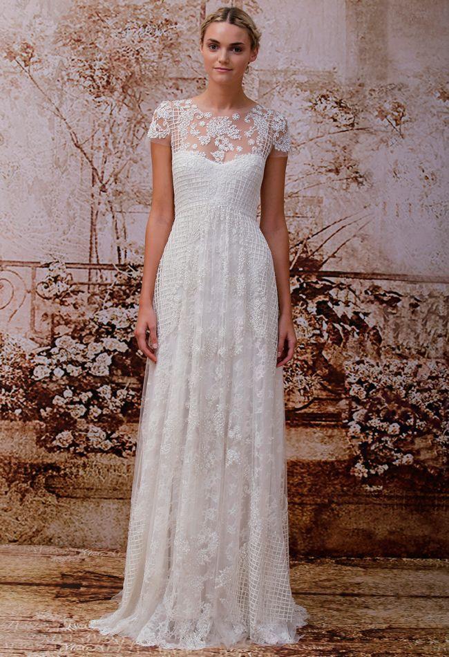 Monique Lhuillier 2014 | Hochzeitskleid