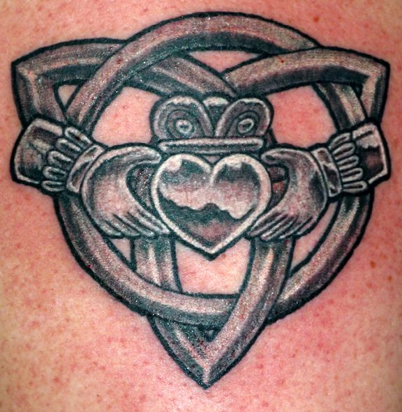 2c31ce19d Claddagh / Celtic knot tattoo. Already have one claddagh tattoo but want  another one.