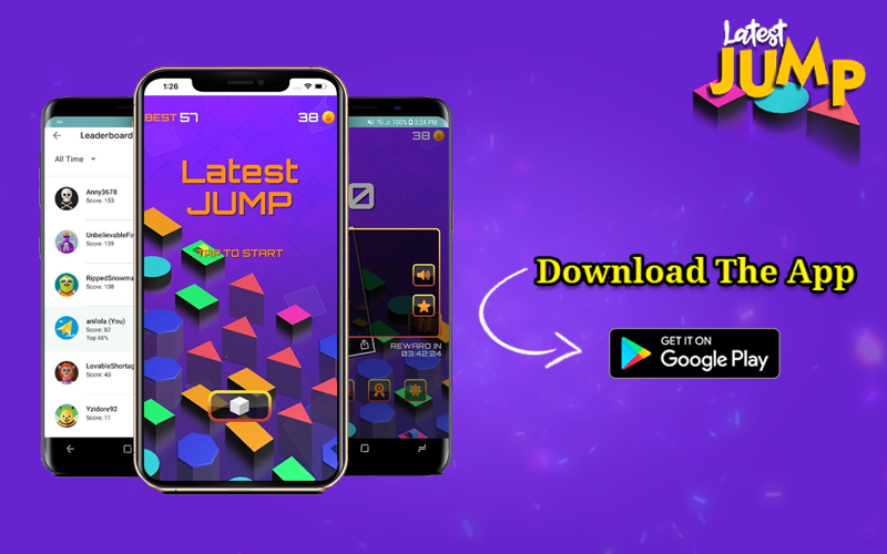 Challenge your friends to break your records. Download the