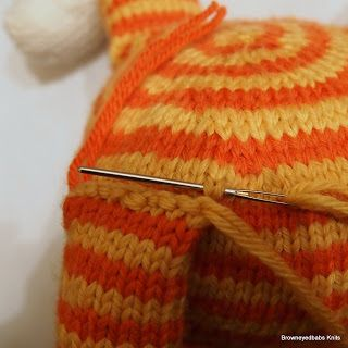 Grafting live stitches to a finished piece