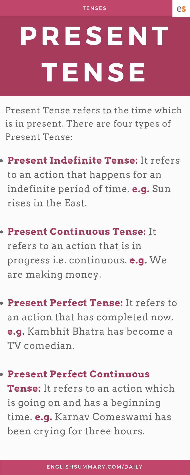 define present perfect