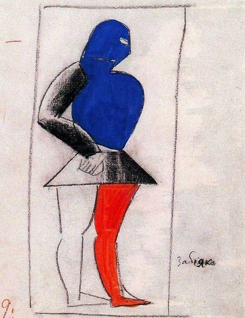 Kazimir Malevich, Costumi per Vittoria sul Sole 1913