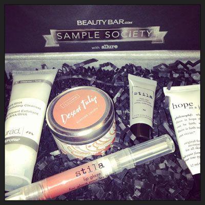 Inside the June Sample Society Box | Beauty, The o'jays and Blog