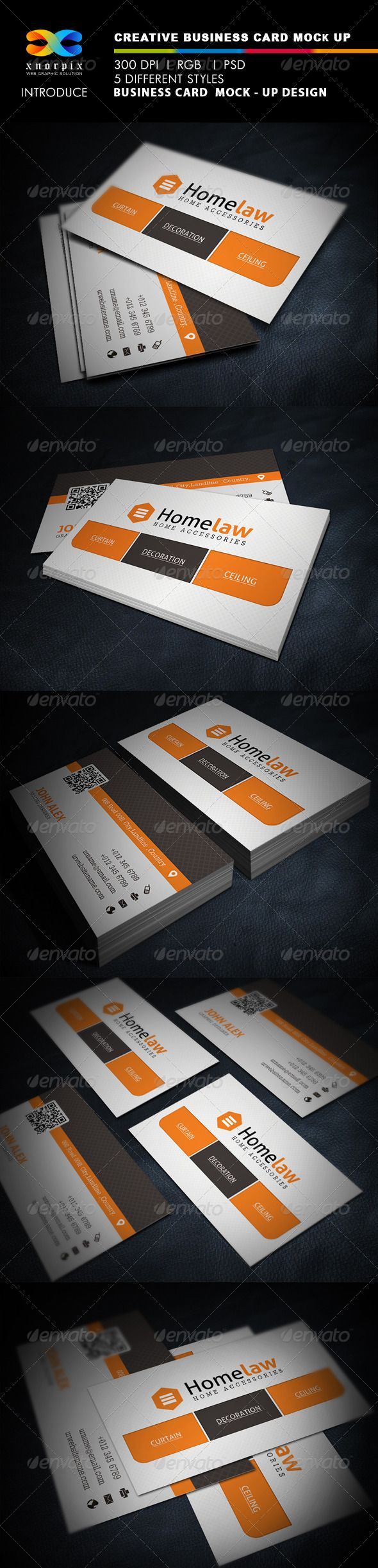 Realistic business card mock up pinterest business cards mock realistic business card mockup photoshop psd product mock up close up available here reheart Images