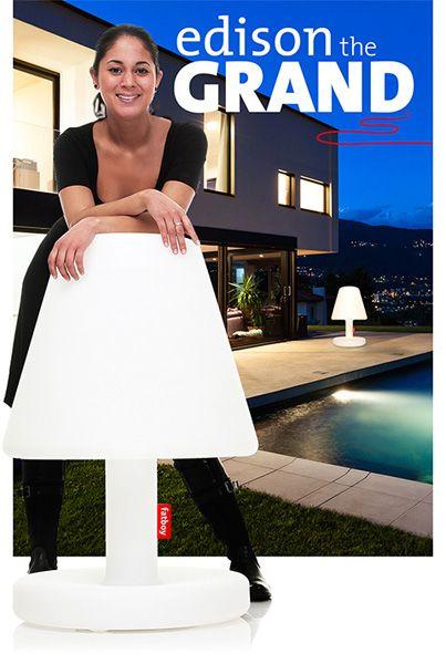 Fatboy A Edite Une Lampe Geante La Lampe Edison The Grand Cote Terrasse Boutique Decor Fatboy Edison