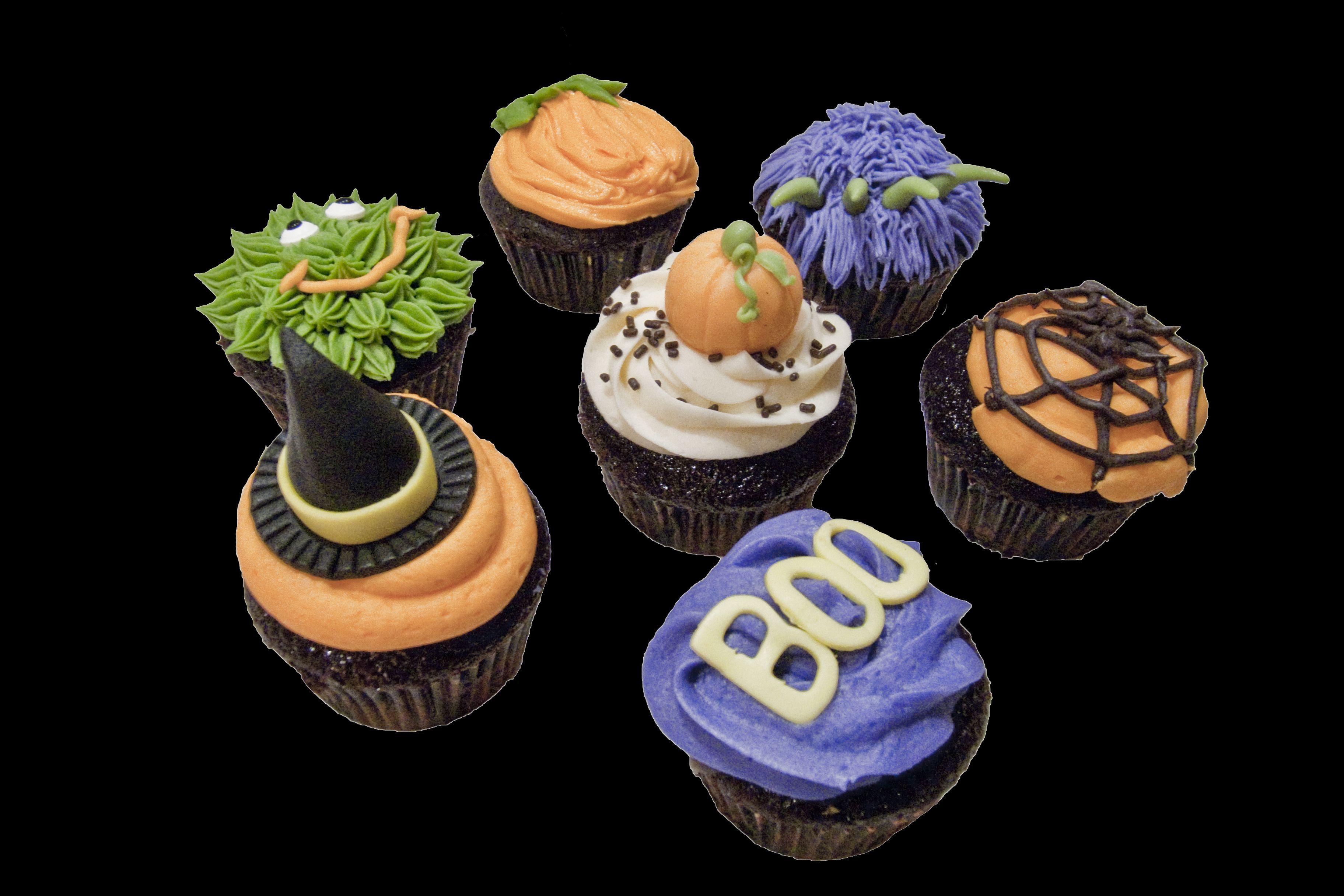 Halloween cupcakes. Cupcakes d'halloween.