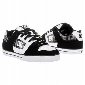 585be63764a7ba Athletics DC Shoes Men s Pure XE Black   White   Plai FamousFootwear ...