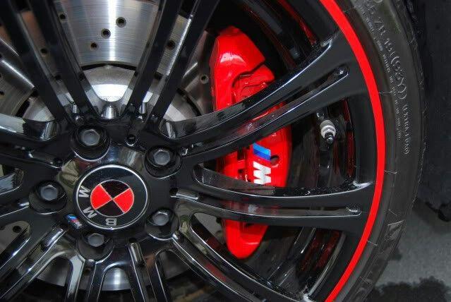 Bmw Red Brake Calipers Red Lip Bmw Red Brake Calipers Bmw