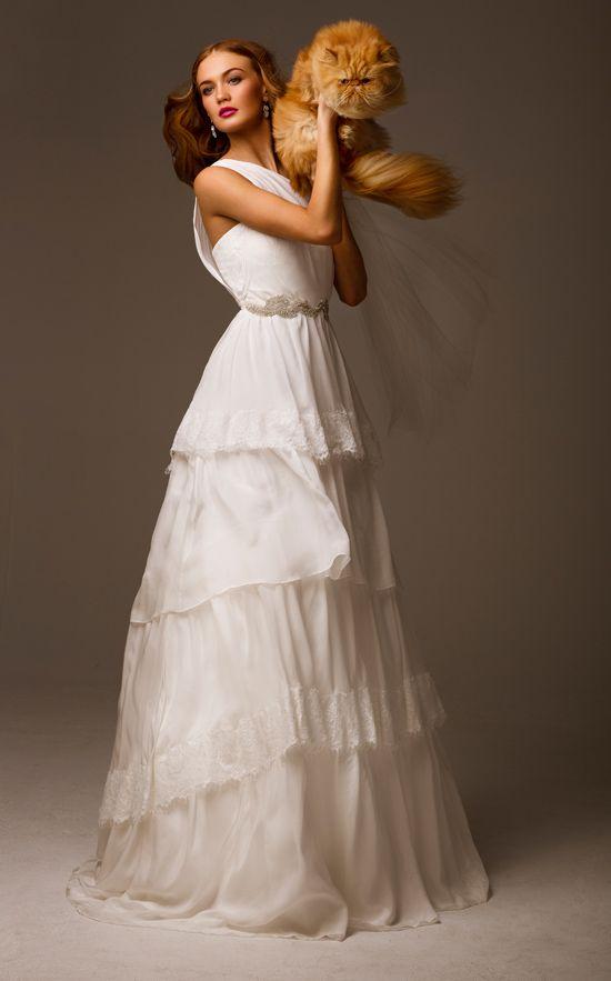Os presentamos la colección de vestidos de novia de la firma The Babushka Ballerina.
