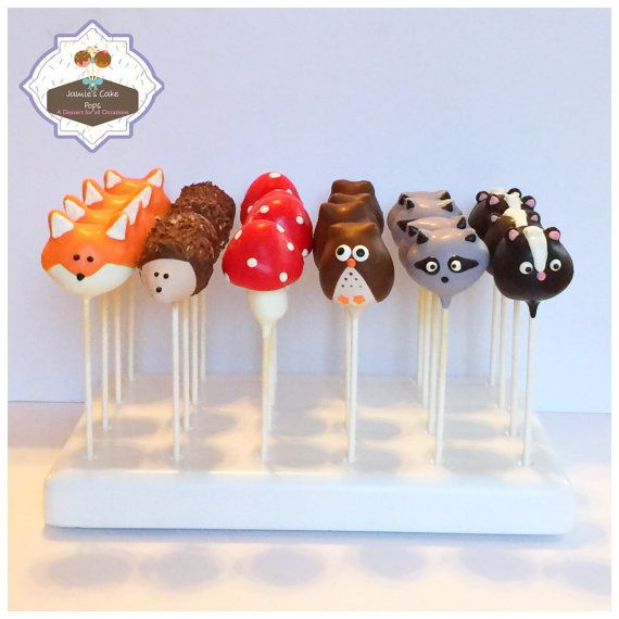 12 Wide-eyed Woodland Owl Cake Pops for Baby Shower Forest |Woodland Cake Balls