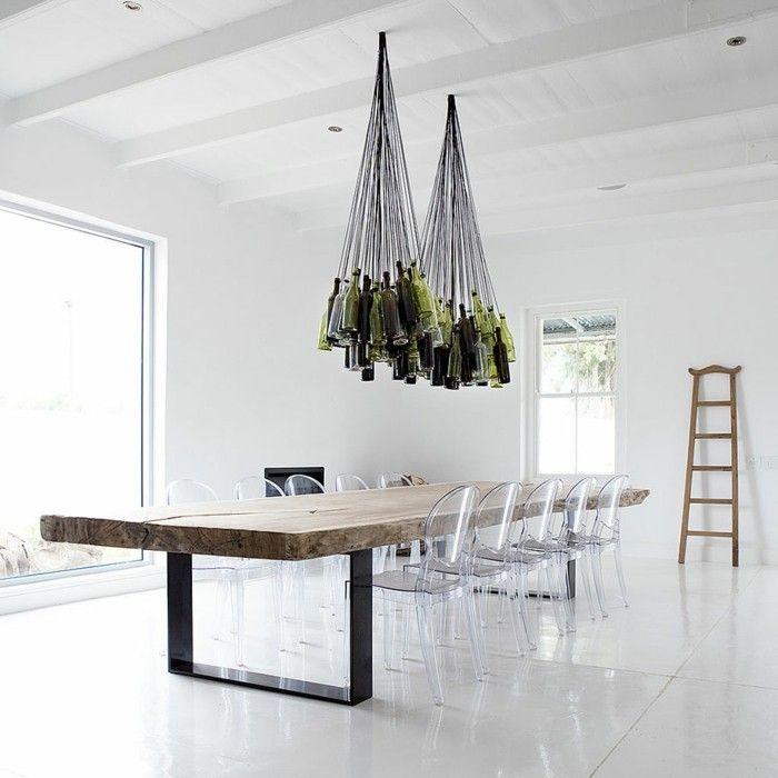 30 Diy Lampe Ideen Fur Ungewohnliche Beleuchtung Zu Hause Esszimmertisch Inneneinrichtung Innenarchitektur