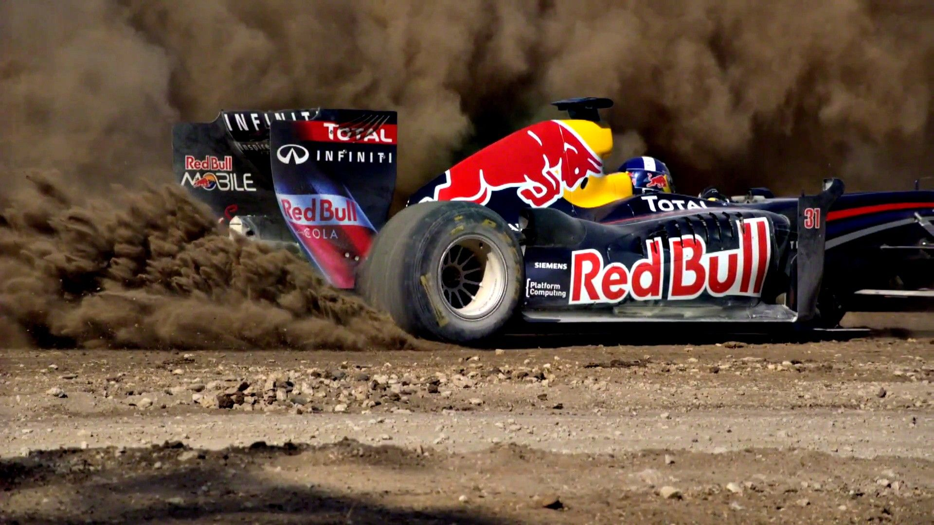 Formula One Red Bull Racing David Coulthard / 1920x1080