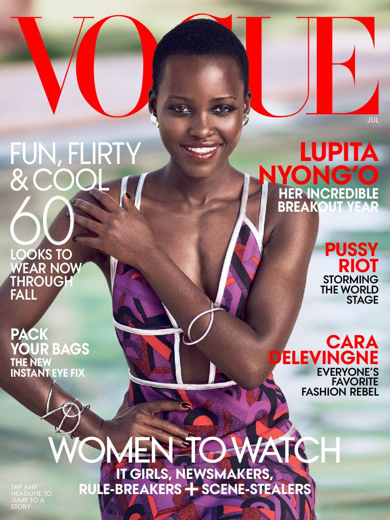 Lupita on us vogue cover