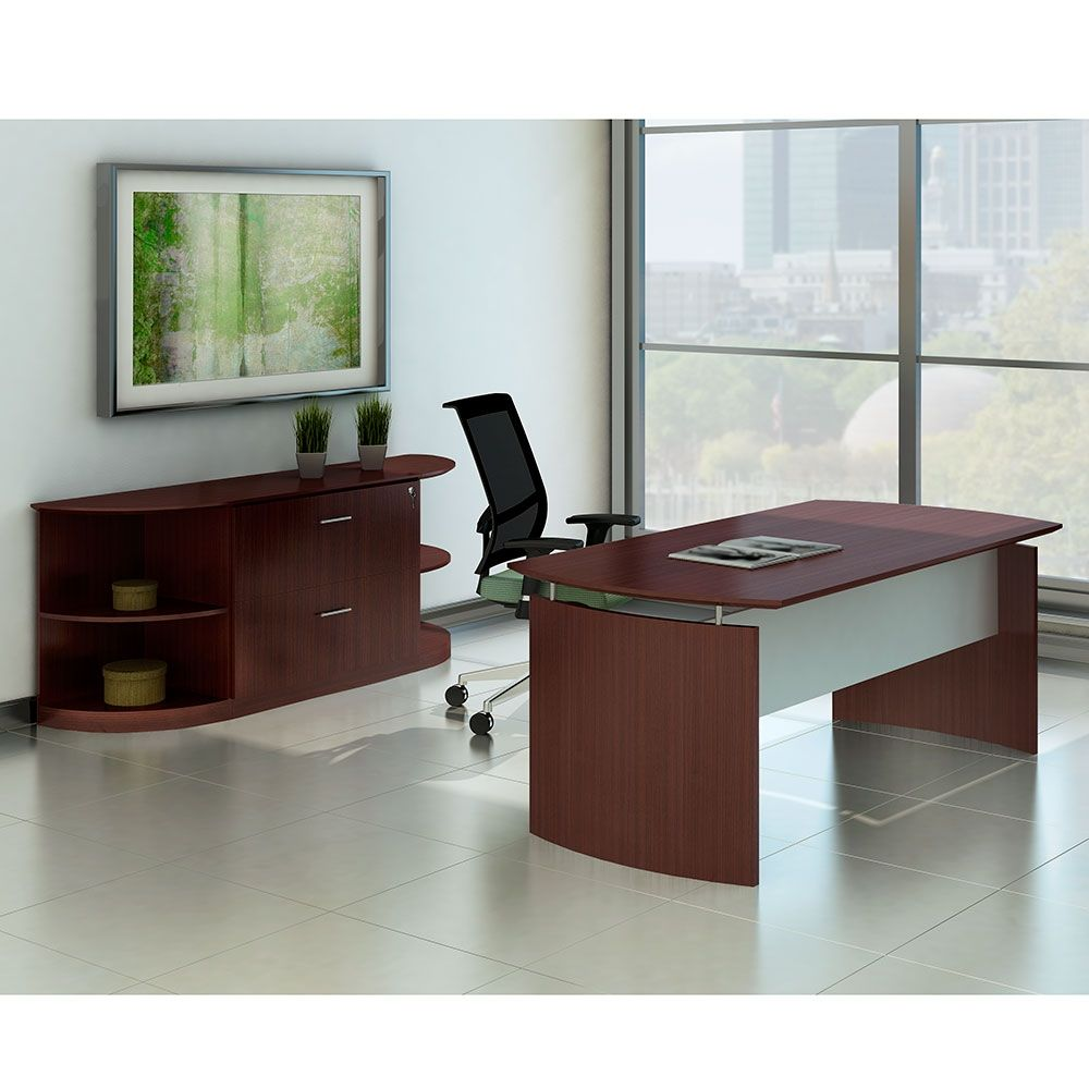 Contemporary Executive Desk Suite (With Images