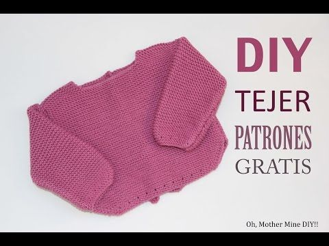 DIY Patrones de jersey de lana para primera puesta (gratis ...