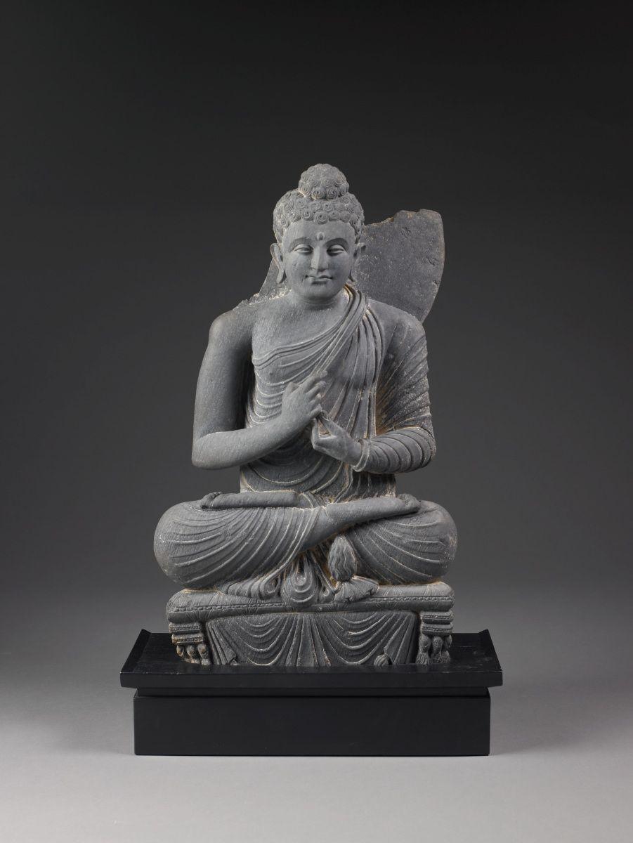 Buddha - Gandhara, Pakistan or Afghanistan, 1st century BC - 11th century.