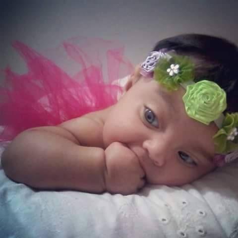 Mi Princesa Sophya, hermosa Dios te bendiga