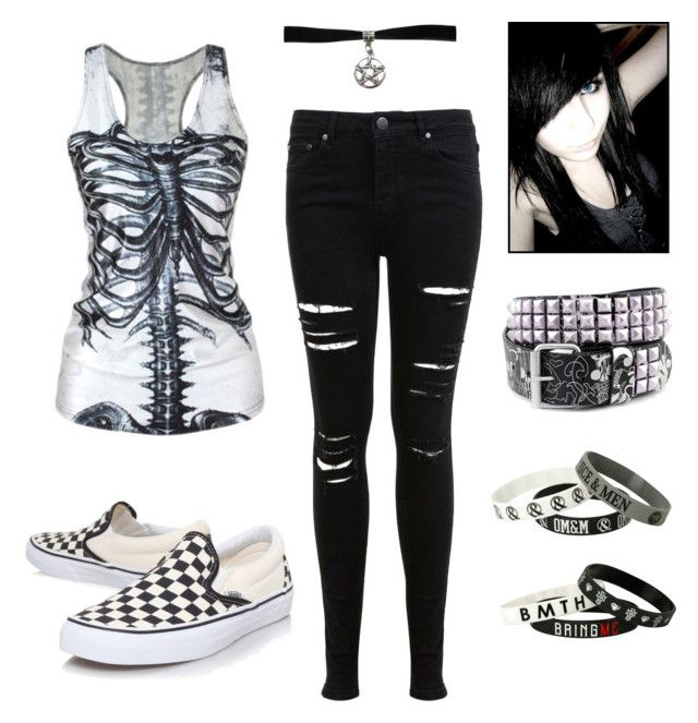 """Emo Scene Kid"" By Queenofthehopeless Liked On Polyvore"