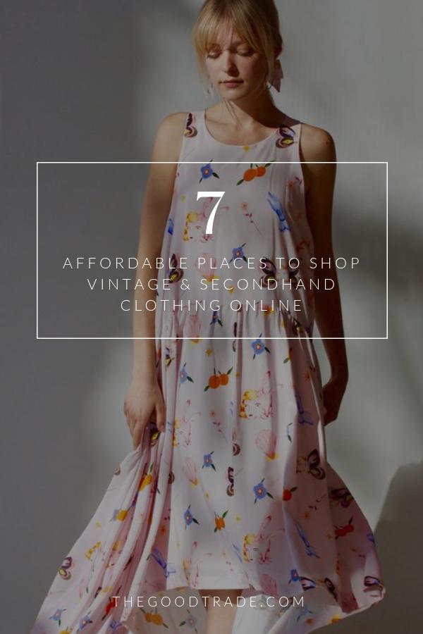 8 Online Thrift Stores For Affordable Vintage Secondhand Clothing Vintage Clothing Online Second Hand Clothes Cocktail Dress Vintage