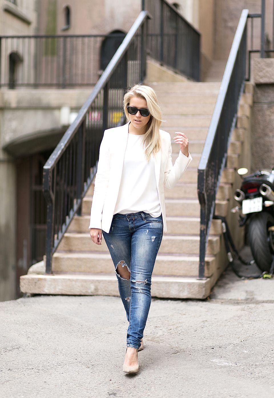 WHITE ON TOP : P.S. I love fashion by Linda Juhola