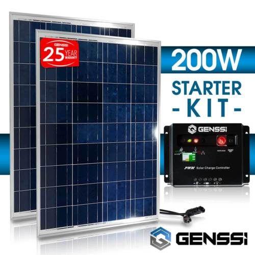 DIY Materials Solar Panels Renogy 200W Polycrystalline Solar