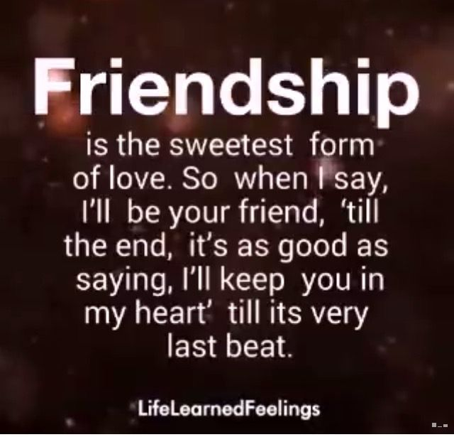 Love friends Friendship And