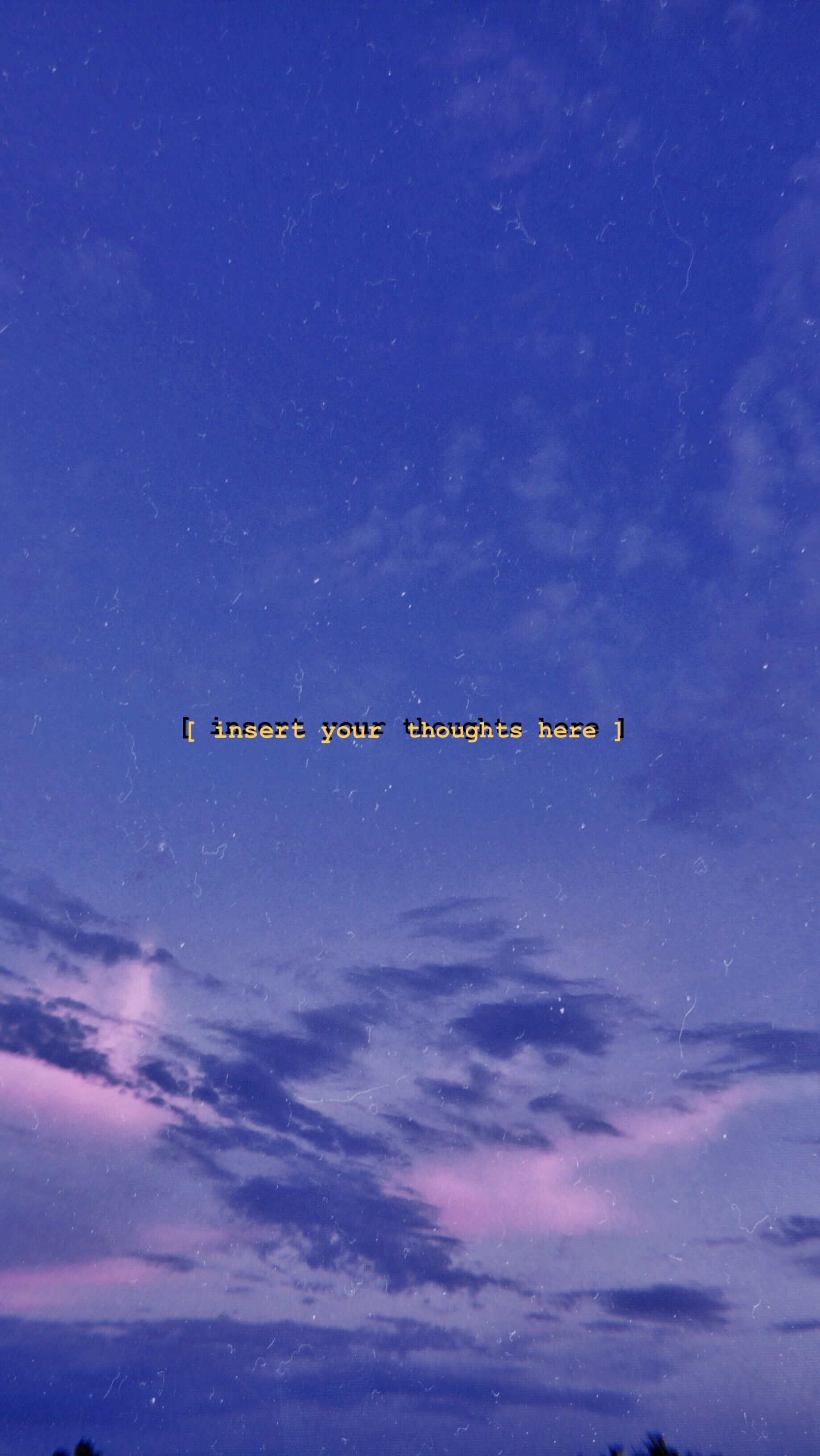 Sky Sunset Purple Text Imagine Wallpaper Wallpaper Quotes