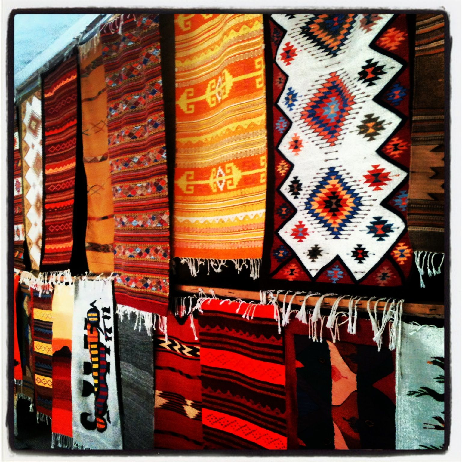 Mexican Rug History: Oaxaca Tappets. These Rugs Last Over 100 Years.