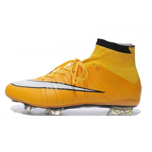 new styles 7d040 af794 ... Billig Nike Mercurial Superfly FG Orange Vit Svart Fotbollsskor . ...