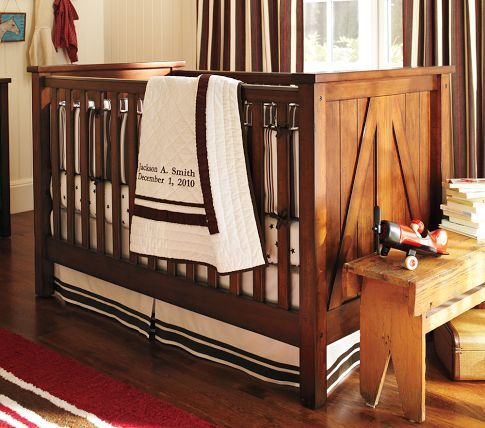 Pottery Barn Brookfield Fixed Gate Crib I Am Kind Of In