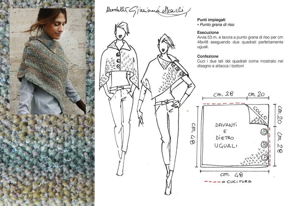 Pin de By Ann en Knitted ponchos, swonchos, capes and capelets ...