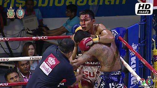 ศกจาวมวยไทยชอง3ลาสด 3/4 ดวงสมพงษ นายกเอทาศาลา vs อรณเดช เพชรสภาพรรณ 3/9/59 Muaythai HD https...