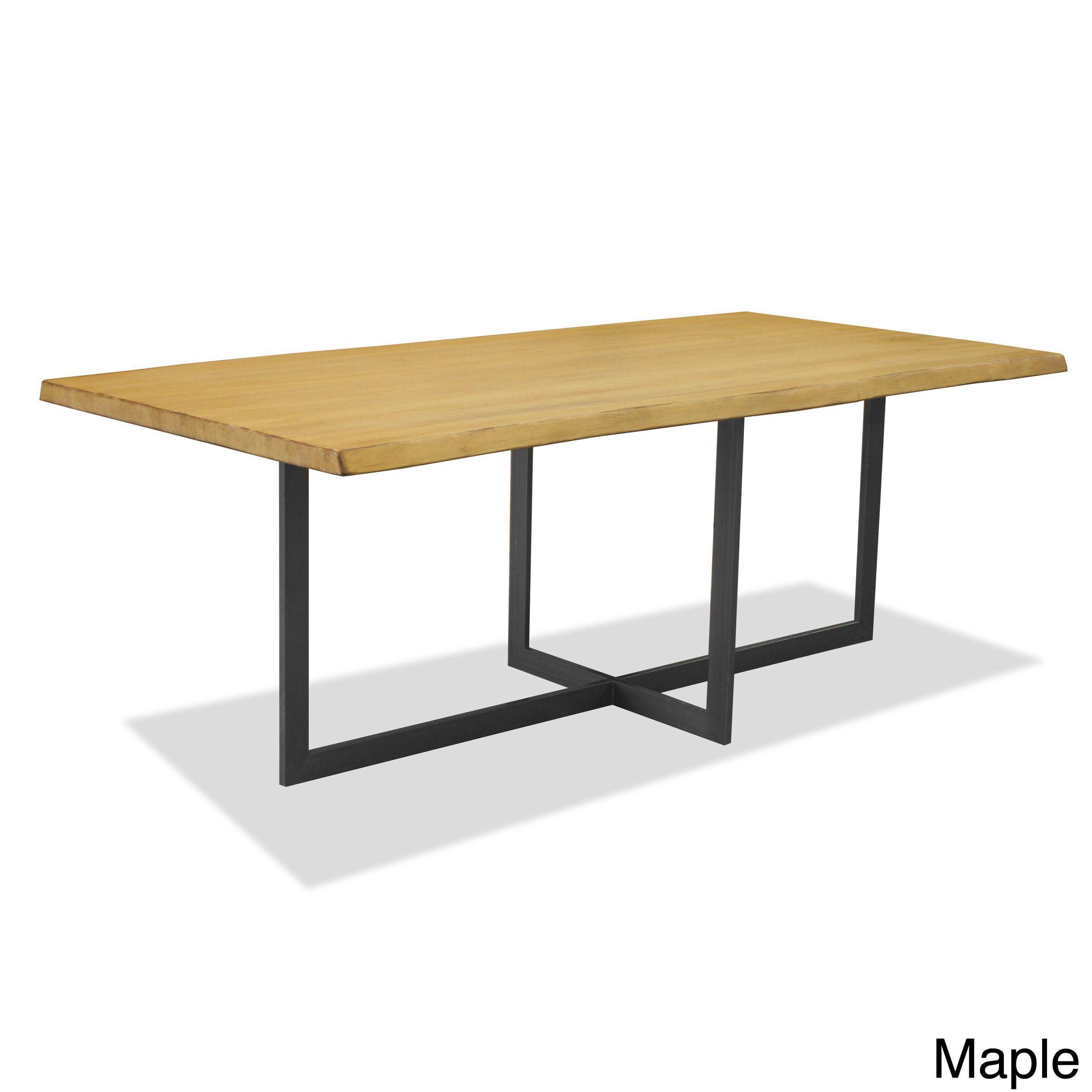 Table basse pinus salon table d/'appoint métal bois Industrial Modern