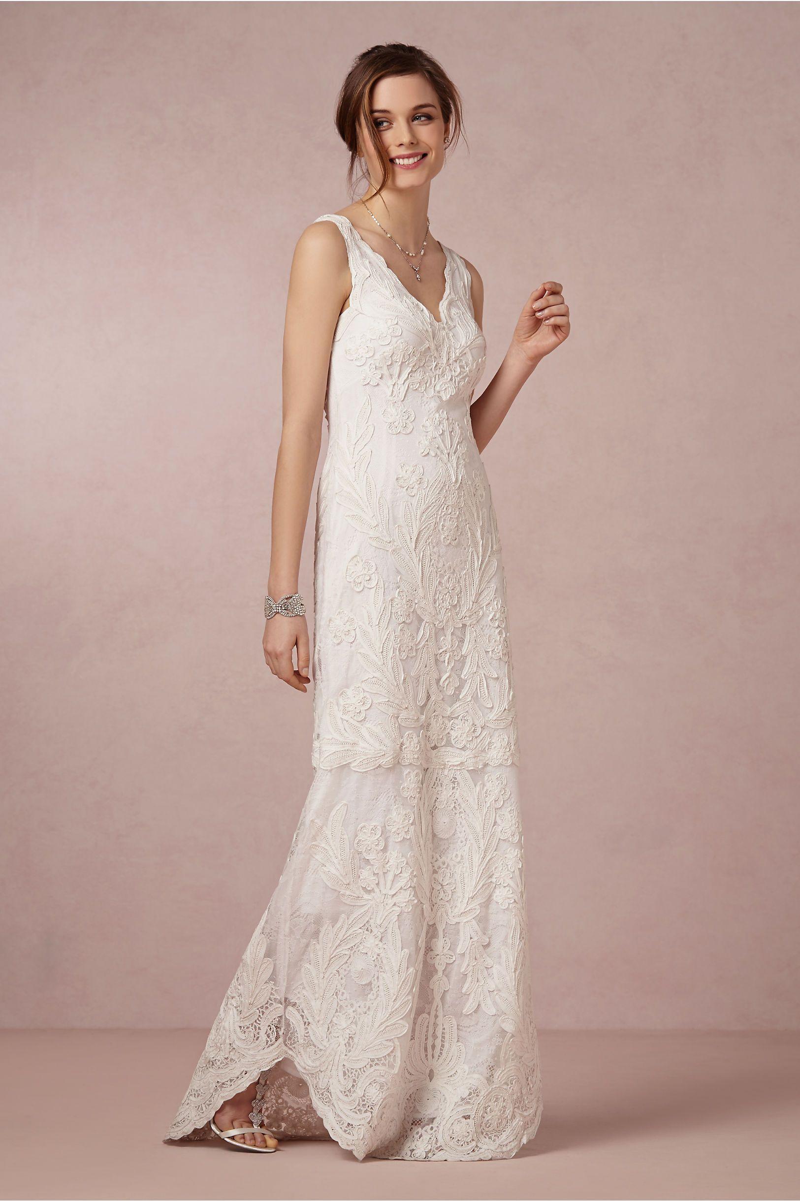Aberdeen gown in bride wedding dresses at bhldn the wedding dress