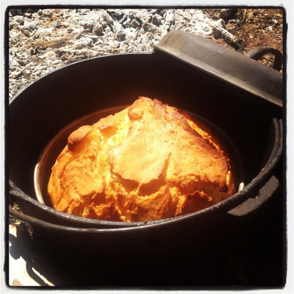 Camp oven damper long track pantry recipes pinterest for Healthy dutch oven camping recipes