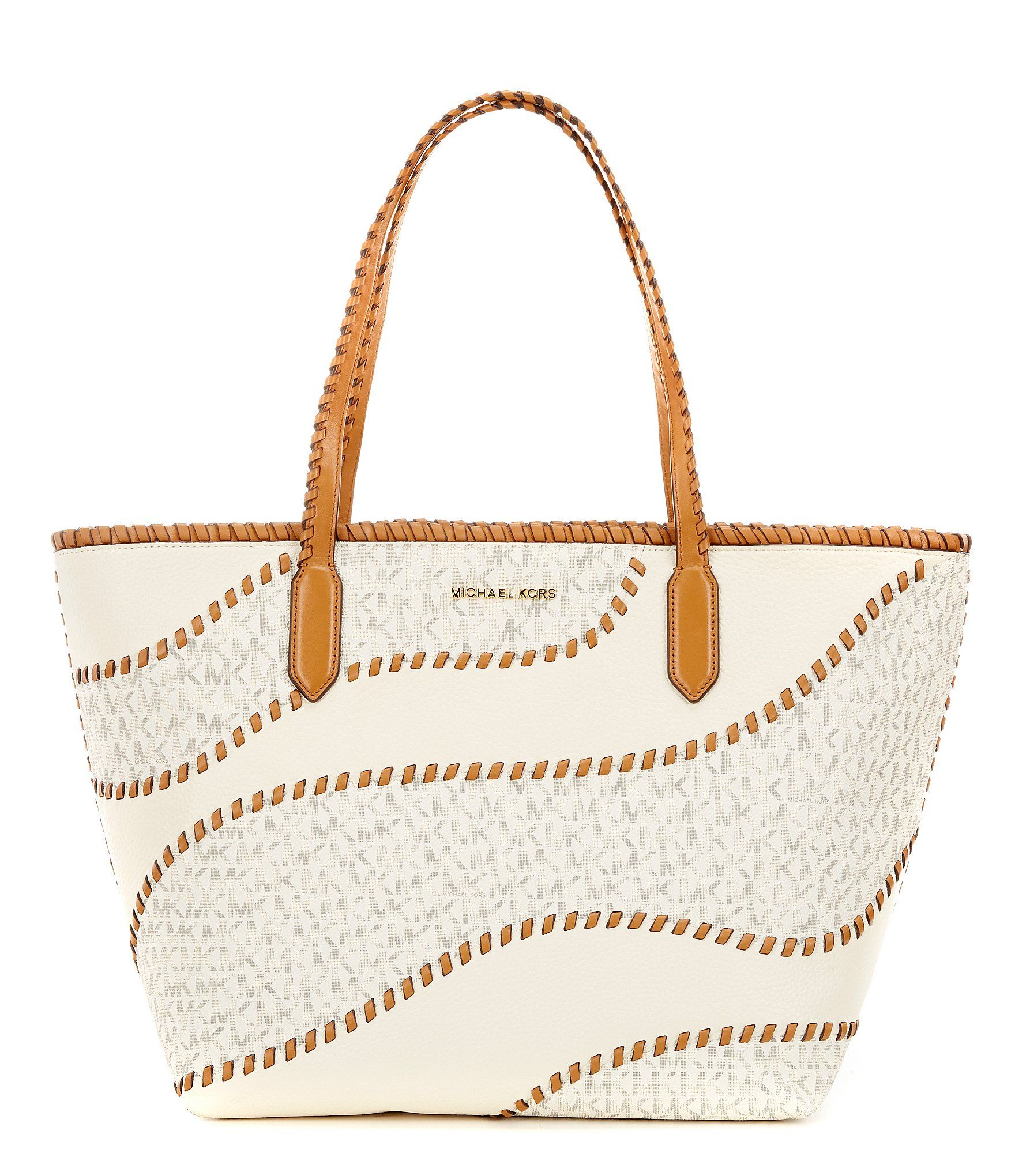 800750a7670e Shop for MICHAEL Michael Kors Signature Hayley Whip-Stitched East/West Tote  at Dillards.com. Visit Dillards.com to find clothing, accessories, shoes,  ...