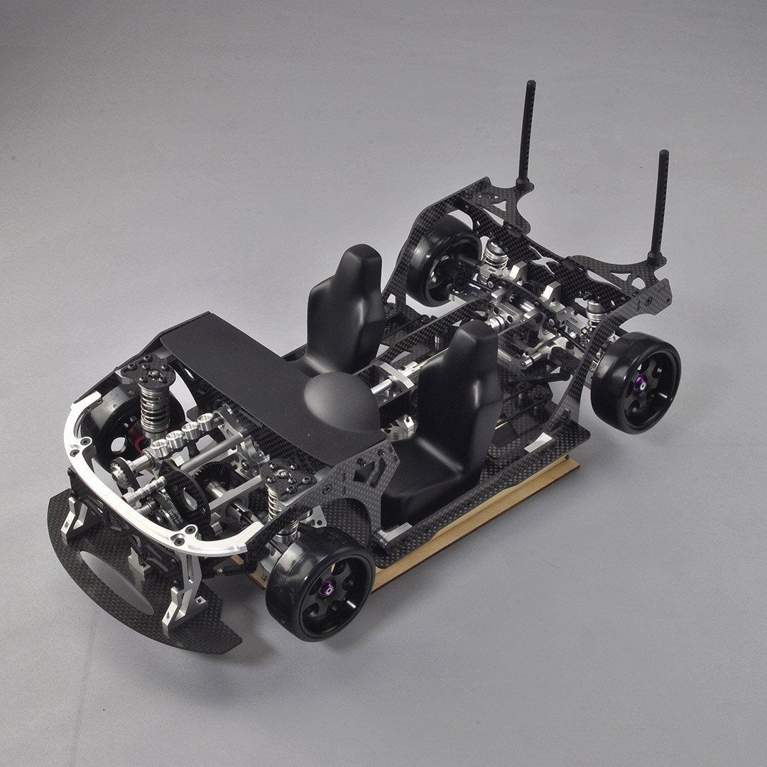D9 Bulldog 1 10 Front Engine Rc Drift Car Combo Rccars